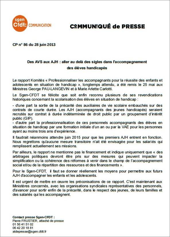 CFDT_Com_rapport_Komitès_28062013