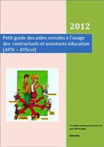 Petit guide des aides sociales à l'usage des contractuels et assistants éducation (AVSi – AVScol)