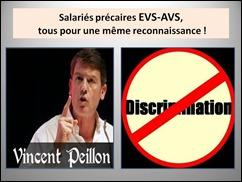 Salariés précaires EVS-AVS,