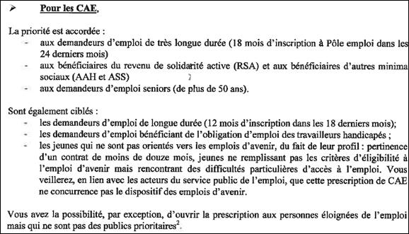 Reconduction des postes evs avs contrat cui cae fin juin - Grille remuneration contrat de professionnalisation ...