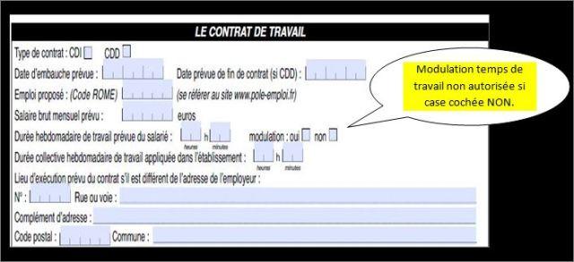 Planning Modulation Temps De Travail Humeur Et Fureur Des