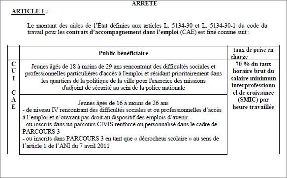 Qui pilote et prescrit le cui cae dans l ducation - Grille remuneration contrat de professionnalisation ...