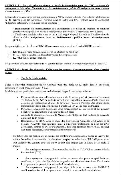 modele lettre suspension contrat cui