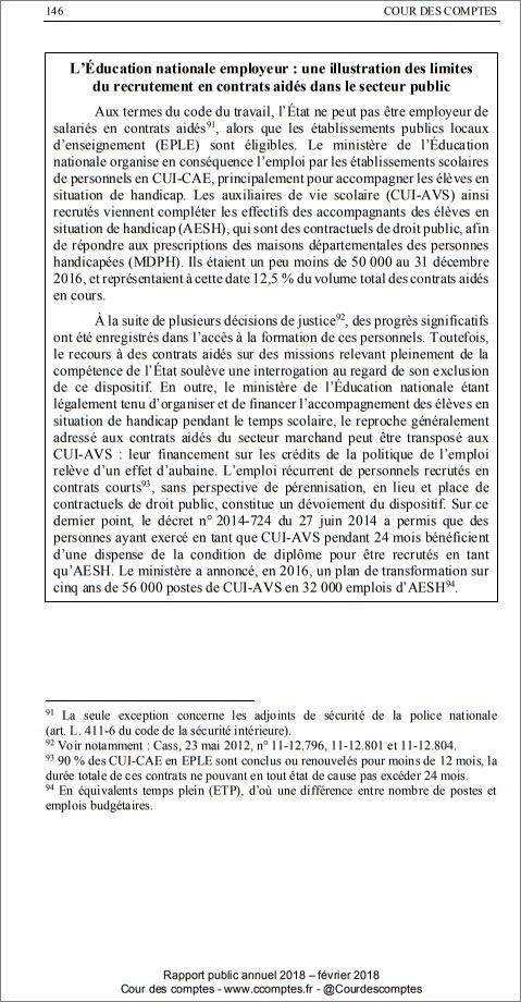 Textes Réglementaires Du Dispositif Pec Cui Cae Dans L
