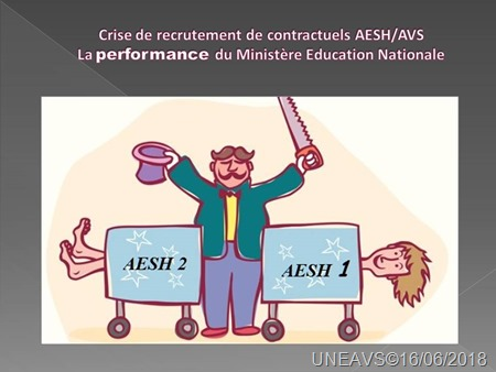 Crise de recrutement de contractuels AESH-AVS